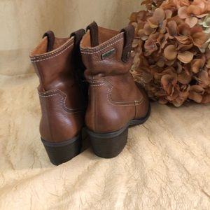 PIKOLINOS Shoes - Pikolinos brown leather ancle booties SZ 37